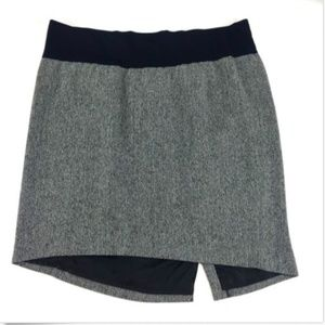 Liz Lange Maternity Gray Pencil Skirt*